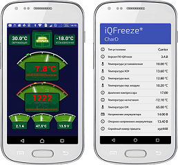 Мобильное приложение iQFreeze