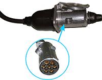 Проводной датчик для контроля прицепов и прицепных орудий